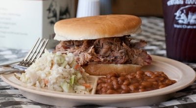 Photo of BBQ Joint Whole Hog Cafe at 2516 Cantrell Rd, Little Rock, AR 72202, United States