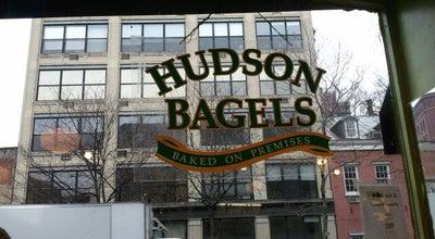 Photo of Bagel Shop Hudson Bagels at 502 Hudson St, New York, NY 10014, United States