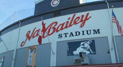 Photo of Baseball Stadium Scotiabank Field at Nat Bailey Stadium at 4601 Ontario St, Vancouver, BC V5V 3H3, Canada