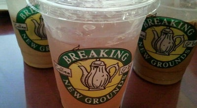 Photo of Coffee Shop Breaking New Grounds at 14 Market Sq, Portsmouth, NH 03801, United States