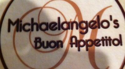 Photo of Italian Restaurant Michaelangelo's Restaurant at 1334 Brace Rd, Cherry Hill, NJ 08034, United States