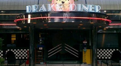 Photo of American Restaurant Drake Diner at 1111 25th St, Des Moines, IA 50311, United States