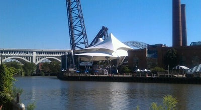 Photo of Music Venue Jacobs Pavilion at Nautica at 2014 Sycamore St, Cleveland, OH 44113, United States