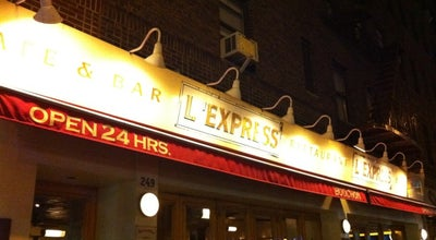 Photo of French Restaurant L'Express at 249 Park Ave S, New York, NY 10003, United States