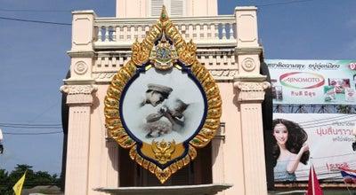 Photo of Monument / Landmark หอนาฬิกา วงเวียนสุรินทร์ (Surin Circle Clock Tower) at Phuket Rd., Mueang Phuket 83000, Thailand