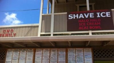 Photo of Ice Cream Shop Ono Ono Shave Ice at 4-1292 Kuhio Hwy, Kapaa, HI 96746, United States