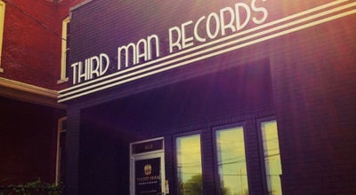 Photo of Record Shop Third Man Records at 630 7th Ave. S, Nashville, TN 37203, United States