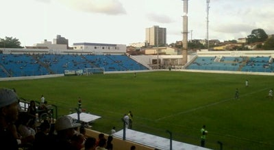 Photo of Soccer Stadium Estádio Municipal Nhozinho Santos at R. 21 De Abril, S/n, São Luís, Brazil