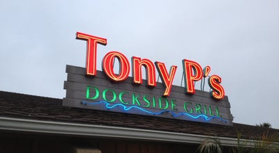 Photo of New American Restaurant Tony P's Bar & Grill at 4445 Admiralty Way, Marina del Rey, CA 90292, United States
