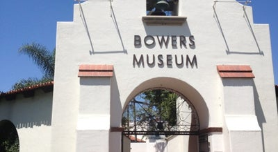 Photo of History Museum Bowers Museum at 2002 N Main St, Santa Ana, CA 92706, United States