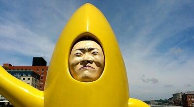 Photo of Monument / Landmark バナナマン at 門司区港町5-1, 北九州市 801-0852, Japan