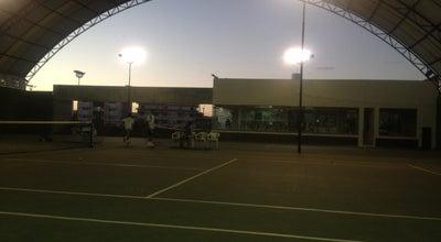 Photo of Tennis Court Bahia Tenis Academia at R. Dos Vereadores, Lauro de Freitas 42700-000, Brazil
