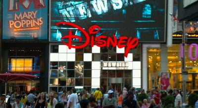 Photo of Gift Shop Disney Store at 1540 Broadway, New York City, NY 10036, United States