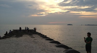 Photo of Beach Pantai Bagan Pinang at Port Dickson, Malaysia