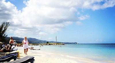 Photo of Arcade Tropical Beach at Montego Bay, Jamaica
