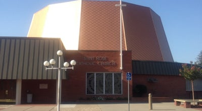 Photo of Church St. Rose of Lima Catholic Church at 615 Vine Ave, Roseville, CA 95678, United States