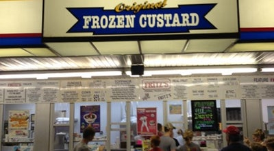 Photo of Ice Cream Shop Fritz's Frozen Custard at 506 Jungermann Rd, Saint Peters, MO 63376, United States
