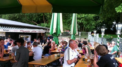 Photo of Beer Garden Olympia Alm at Martin-luther-king Weg 8, München 80809, Germany