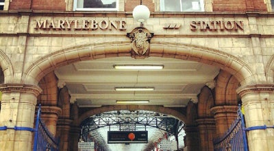 Photo of Train Station London Marylebone Railway Station (MYB) at Great Central House, Melcombe Pl, Marylebone NW1 6JJ, United Kingdom