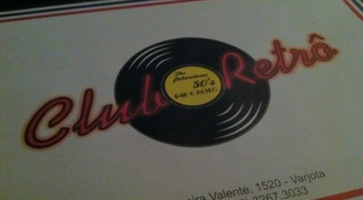 Photo of Pub Clube Retro at R. Pereira Valente, 1520, Brazil