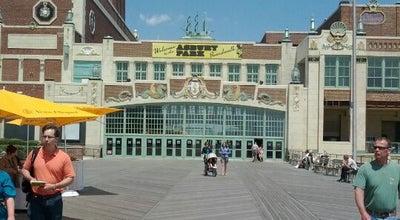 Photo of Beach Asbury Park Boardwalk at 1100 Ocean Ave, Asbury Park, NJ 07712, United States