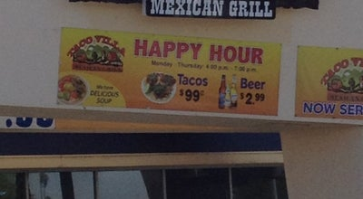 Photo of Mexican Restaurant Taco Villa at 8022 Limonite Ave, Riverside, CA 92509, United States
