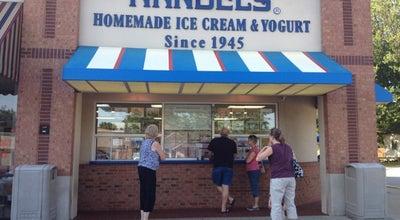 Photo of Ice Cream Shop Handel's Homemade Ice Cream & Yogurt at 8760 E 116th St, Fishers, IN 46038, United States