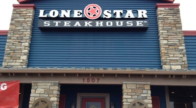 Photo of Steakhouse Lone Star Steakhouse & Saloon at 1502 Hampton Dr, Effingham, IL 62401, United States