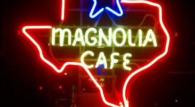 Photo of Diner Magnolia Cafe at 2304 Lake Austin Blvd, Austin, TX 78703, United States