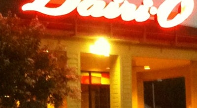 Photo of Fast Food Restaurant Dairi-O at 6401 University Pkwy, Winston Salem, NC 27105, United States