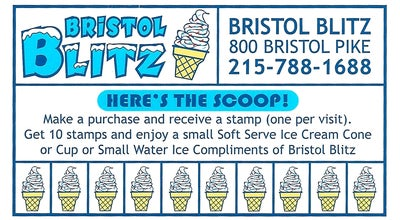 Photo of Ice Cream Shop Bristol Blitz at 800 Rte 13, Bristol, PA 19007, United States