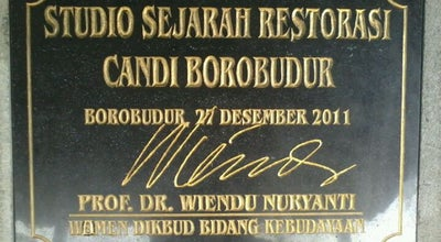 Photo of History Museum Studio Sejarah Restorasi Candi Borobudur at Indonesia