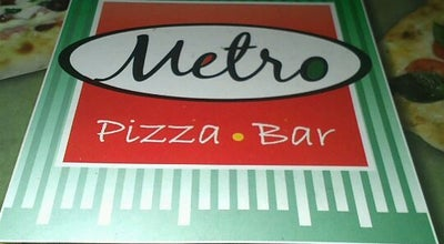 Photo of Pizza Place Metro Pizza Bar at Av. Sen. Filinto Müller, Cuiabá, Brazil