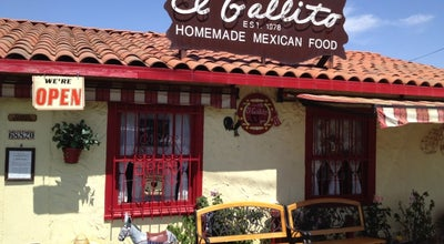 Photo of Mexican Restaurant El Gallito at 68820 Grove St, Cathedral City, CA 92234, United States