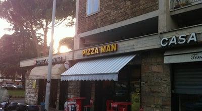 Photo of Pizza Place Pizzaman at Via Gran Bretagna 26, Firenze 50126, Italy