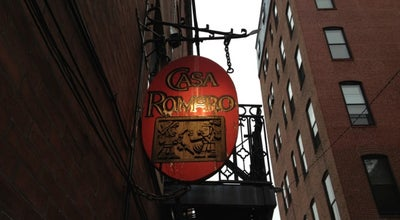 Photo of Mexican Restaurant Casa Romero at 30 Gloucester St, Boston, MA 02115, United States