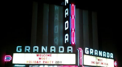 Photo of Music Venue Granada Theater at 3524 Greenville Ave, Dallas, TX 75206, United States