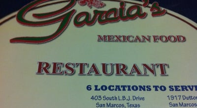 Photo of Mexican Restaurant Garcia's Mexican Food Restaurant at 575 E Fm 150, Kyle, TX 78640, United States
