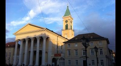 Photo of Church Evangelische Stadtkirche at Marktplatz, Karlsruhe 76133, Germany