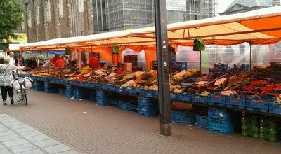 Photo of Farmers Market De Markt at Kerkplein, Arnhem, Netherlands