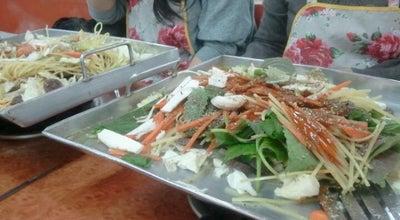 Photo of Korean Restaurant 신림동 순대타운 at 관악구 신림로59길 14, 서울특별시 151-930, South Korea