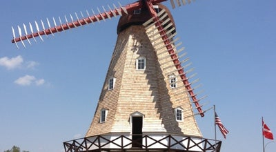 Photo of Monument / Landmark Danish Windmill at 4038 Main St, Elk Horn, IA 51531, United States