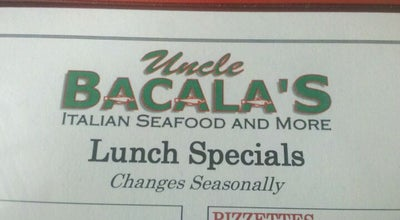 Photo of Italian Restaurant Uncle Bacala's at 2370 Jericho Tpke, Garden City Park, NY 11040, United States