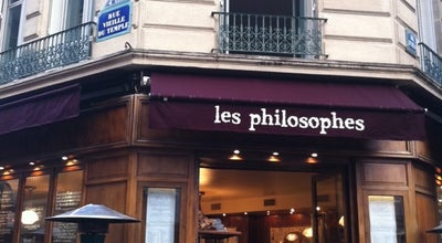 Photo of French Restaurant Les Philosophes at 28 Rue Vieille Du Temple, Paris 75004, France