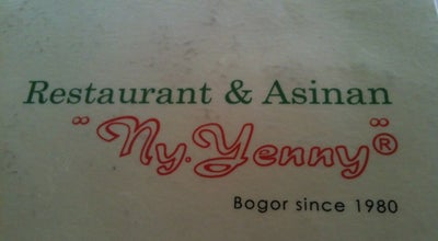 Photo of Chinese Restaurant Ny. Yenny Restaurant at Jl. Bina Marga No.1, Bogor 16143, Indonesia