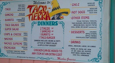 Photo of Mexican Restaurant Taco Tierra at 1130 S Main St, Princeton, IN 47670, United States