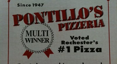 Photo of Pizza Place Pontillo's Pizzeria at 101 Eastern Blvd, Canandaigua, NY 14424, United States