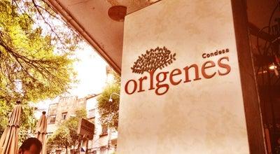 Photo of Vegetarian / Vegan Restaurant Orígenes at Plaza Popocatépetl 41 A, Cuauhtémoc 06100, Mexico