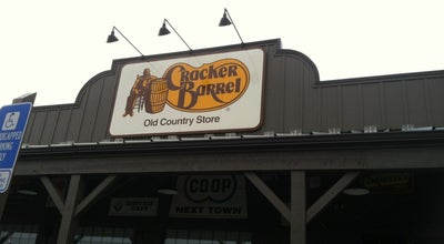 Photo of American Restaurant Cracker Barrel Old Country Store at 451 West Reservoir Rd I-81 & Hwy 42, Woodstock, VA 22664, United States