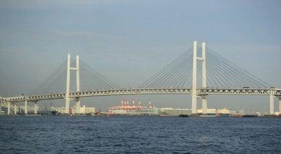 Photo of Bridge 横浜ベイブリッジ (Yokohama Bay Bridge) at 鶴見区大黒ふ頭/中区本牧ふ頭, 横浜市, Japan
